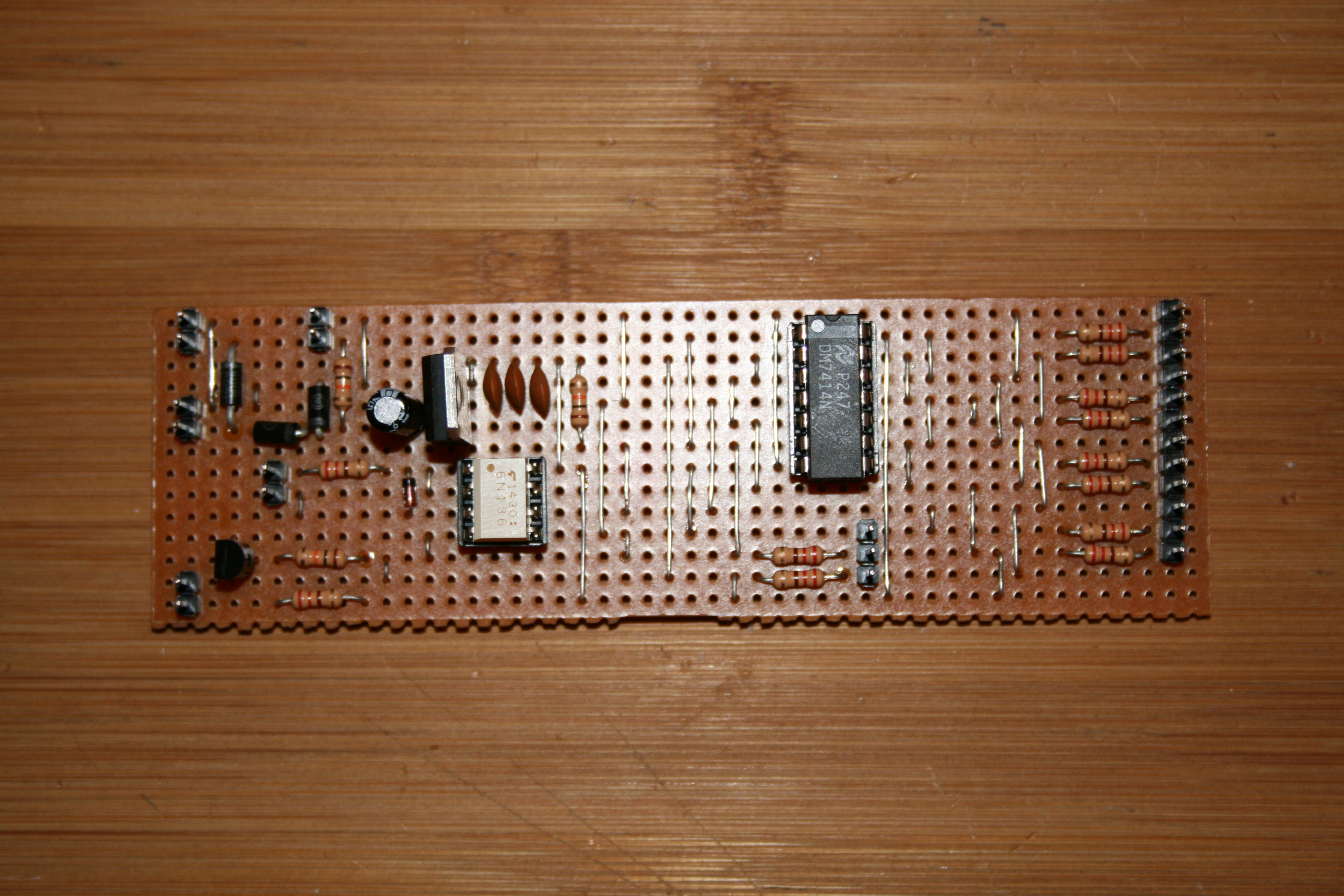 Diy Midi Thru Box Morocco Dave Doityourself Customized Circuit Board Pcb Making Do It Boxing Up