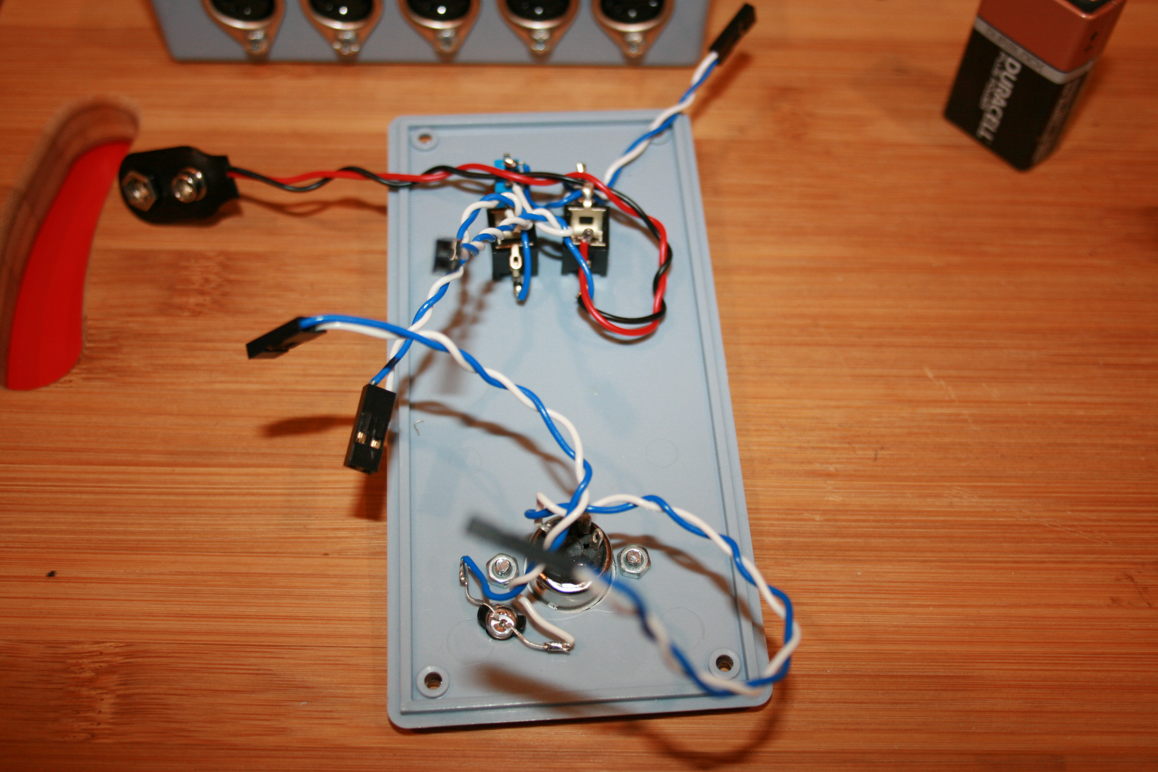 Diy Midi Thru Box Morocco Dave Can You Gave Me A Websites Or Links That Thousands Of Schematics Diagram Electronics Once Was Done I Could Put The Remaining Components In Place On Panel And Do Last Bits Soldering