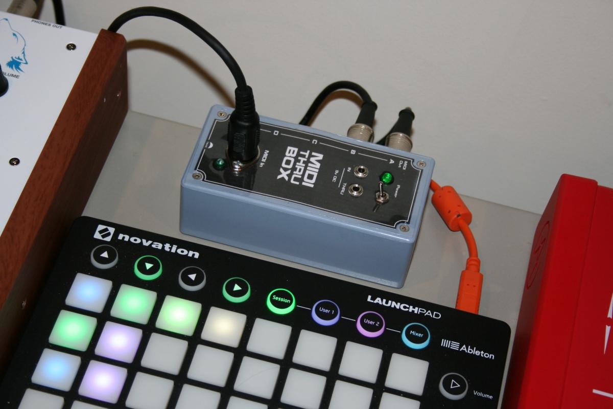 Diy Midi Thru Box Morocco Dave Doityourself Customized Circuit Board Pcb Making Do It