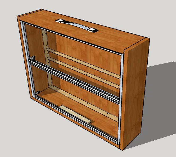 13U x 2 row modular case