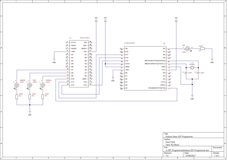 Arduino Nano ISP Programmer – Morocco Dave