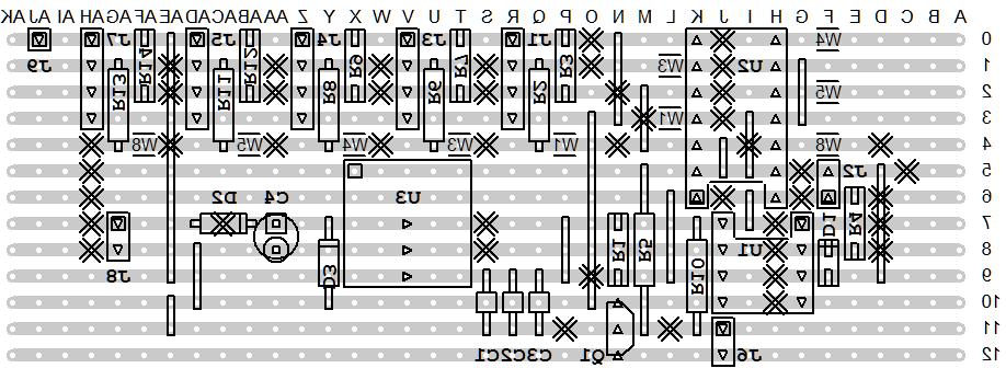 MIDI & 5V Breakout Board Flipped