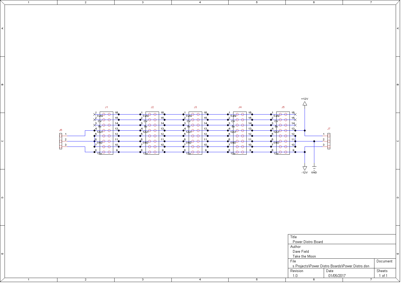 Diy Modular Synth Case Power Distribution Morocco Dave Schematic Distro