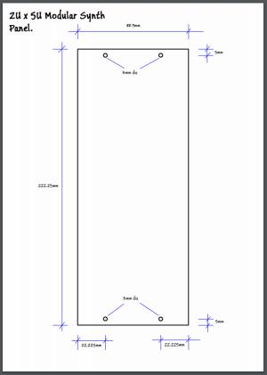 2U panel sketch