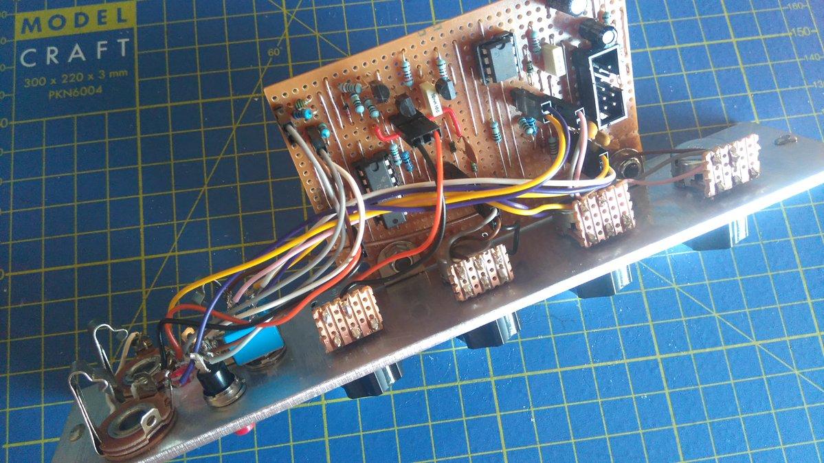DIY Modular Synth: ADSR Envelope Generator – Morocco Dave