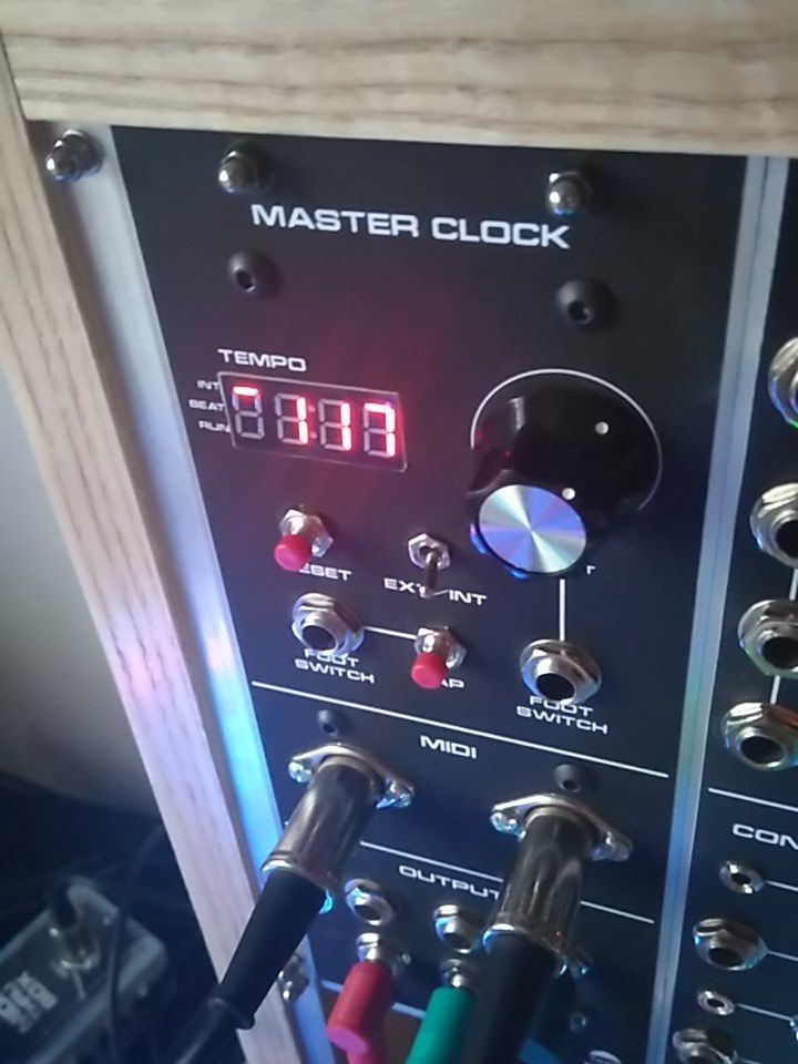 DIY Modular Synth: MIDI and CV Master Clock – Morocco Dave