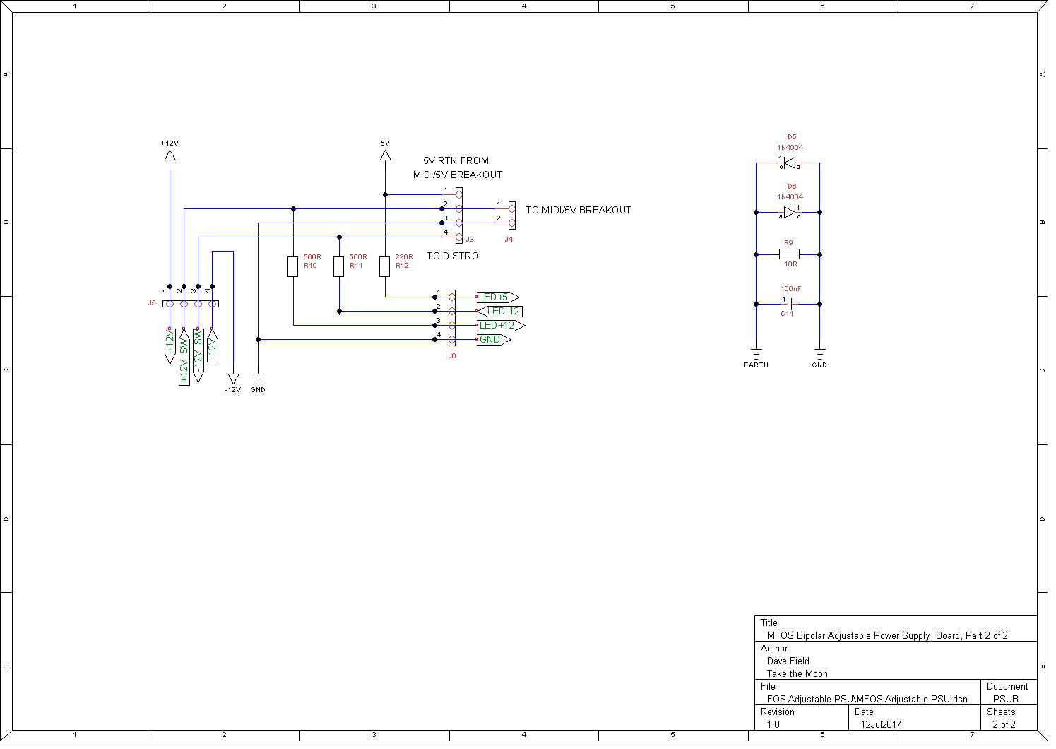 Synth Schematics Powersupply Schematics - Wiring Diagram Article